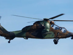 Tiger helicopter at Valence-Chauteil airport, source : wikipedia