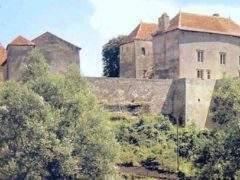 Jaulny Castle (Meurhe-et-Moselle), a 12th century building (DR)