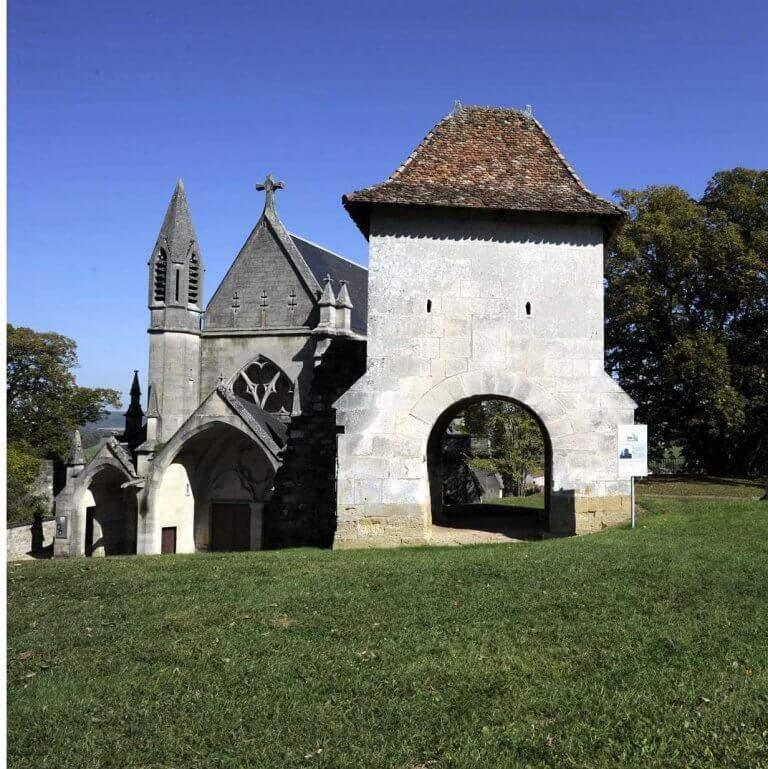 Jeanne left Vaucouleurs by the Porte de France (DR)
