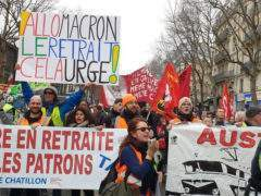 A new day of mobilisation against pension reform (Flickr)