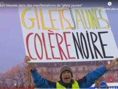 Yellow Vest Manifesto (EuroNews capture)