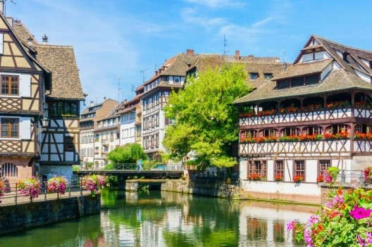 Typical houses in Strasbourg (Public Domain Pictures)