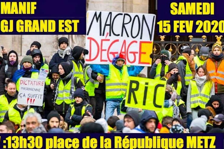 Retreats, Yellow Vests : The anger continues.