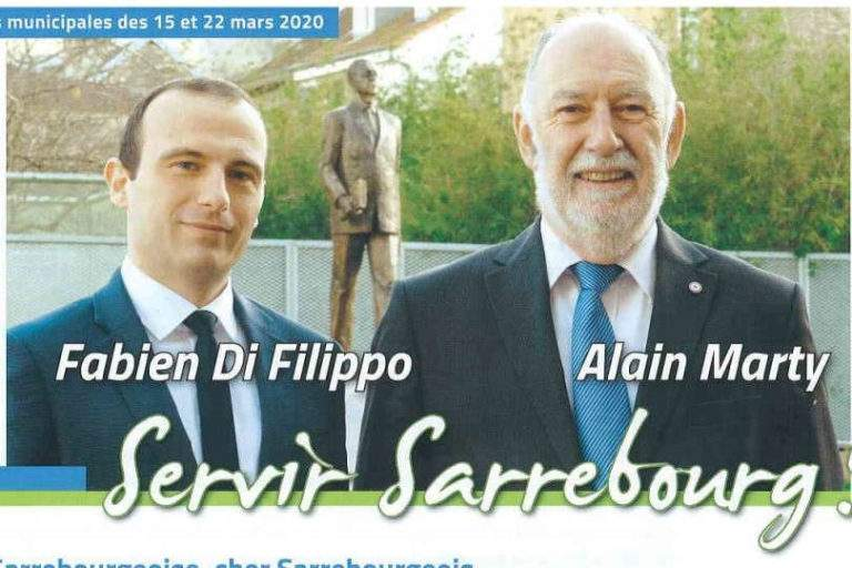 Alain Marty runs for a sixth term in Sarrebourg (57)