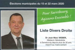 Jean-Marc Weber was Alain Marty's deputy at the Sarrebourg town hall.