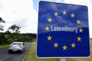 French-Luxembourg border
