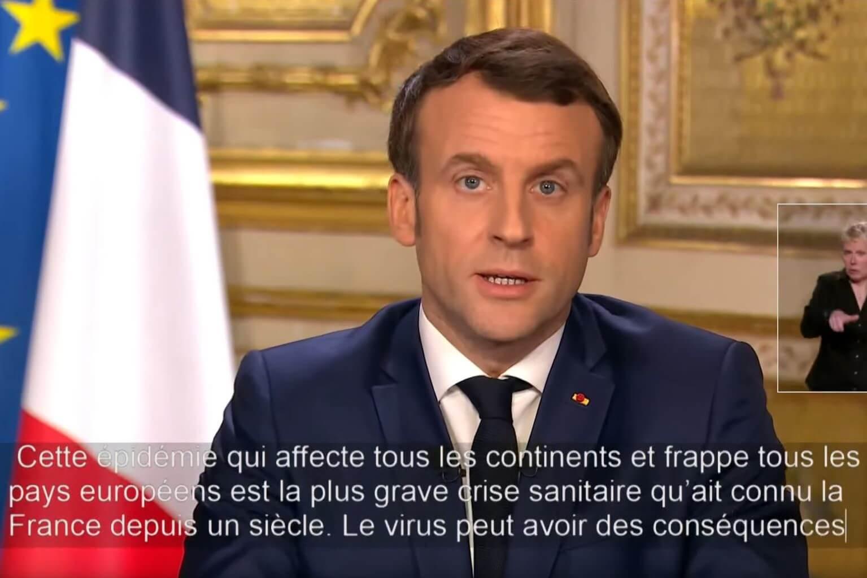 Covid 19 Official Speech By Emmanuel Macron On March 12 2020