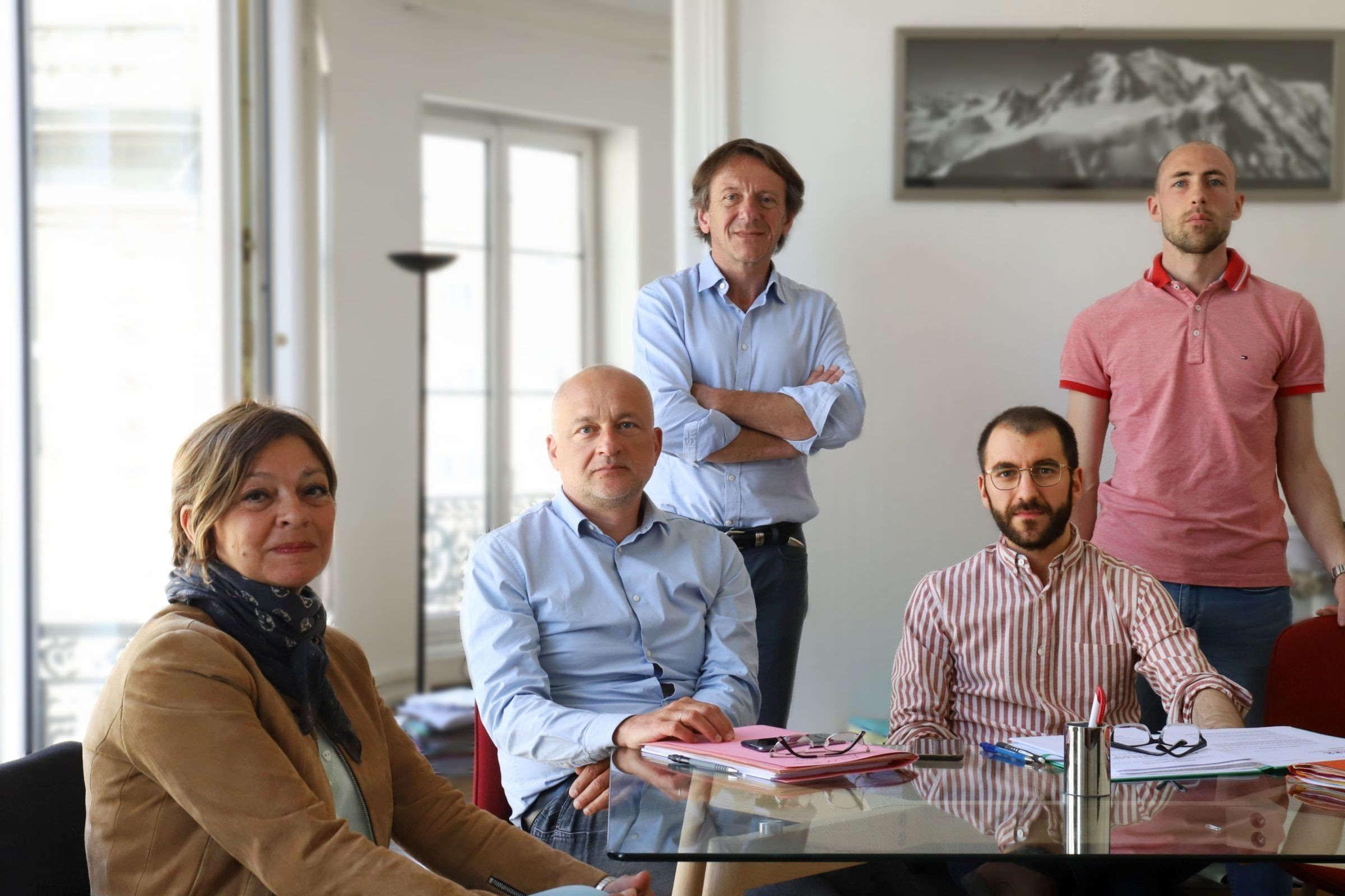 Les fondateurs de l'association d'aide aux victimes du Covid-19