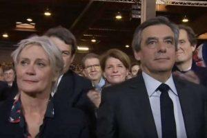 Fillon, François and Penelope (BFMTV capture)