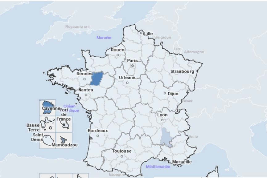 Incidence rate (Public Health France)