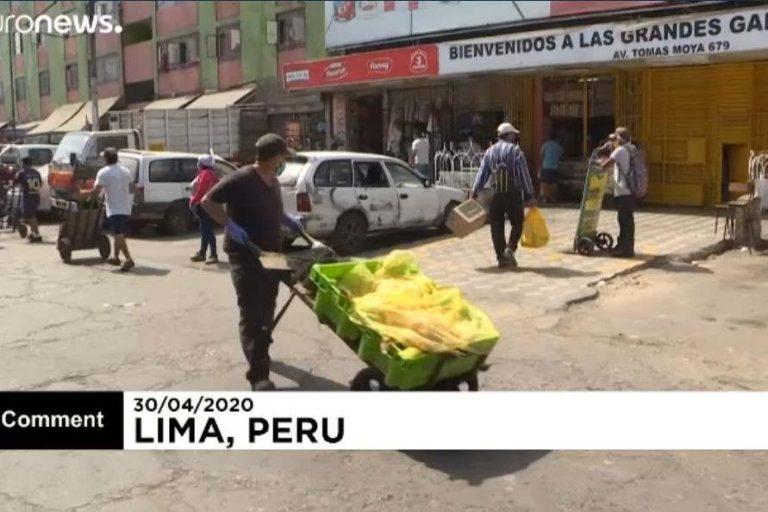 Lima market in Peru (Euronews catch)