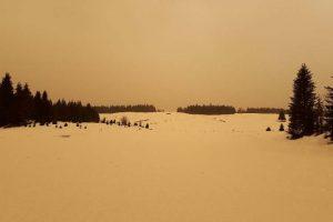 Photos taken on February 6, 2021 in the Jura Mountains © ACRO