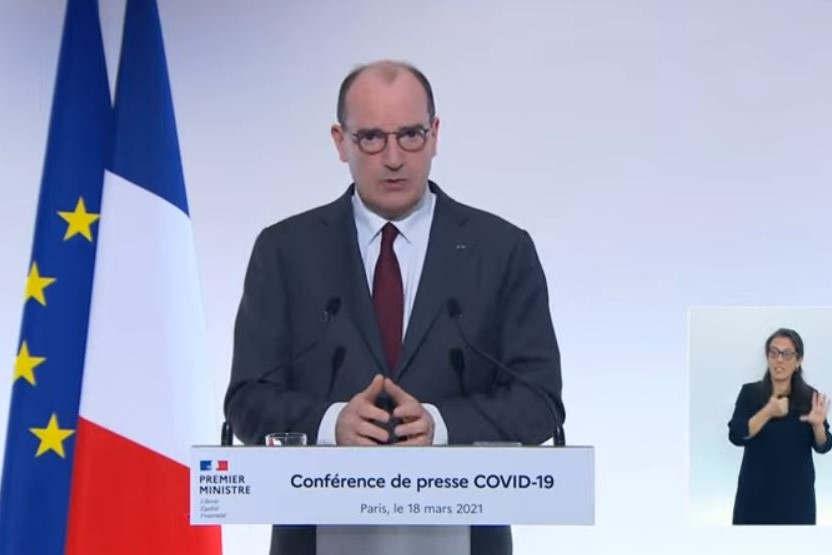 The Prime Minister Jean Castex