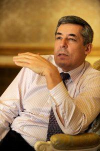 Henri Gaino, special adviser to Sarkozy (DR)