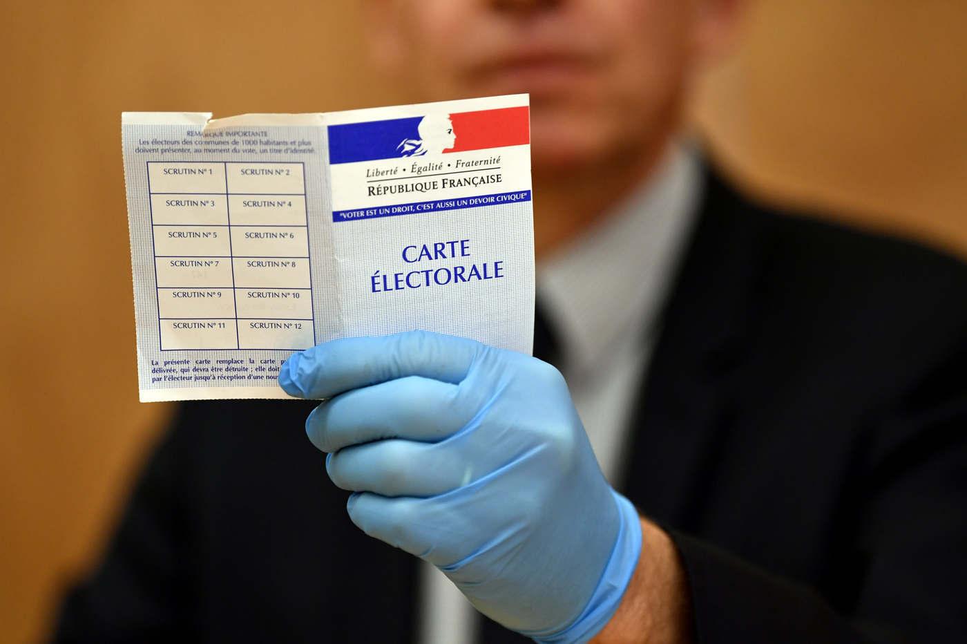 Election of June 20 and 27, 2021 Election of June 20 and 27, 2021 respecting the barrier gestures (DR)