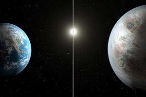 Kepler 452B et la Terre (Gaïa) Wikipedia