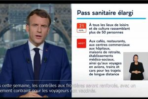 Speach Macron 12 juillet 2021