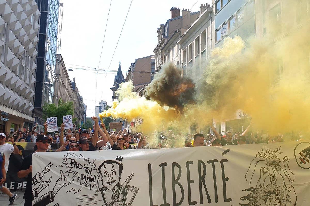 Nancy : 14 août 2021 (Le Bloc Lorrain)