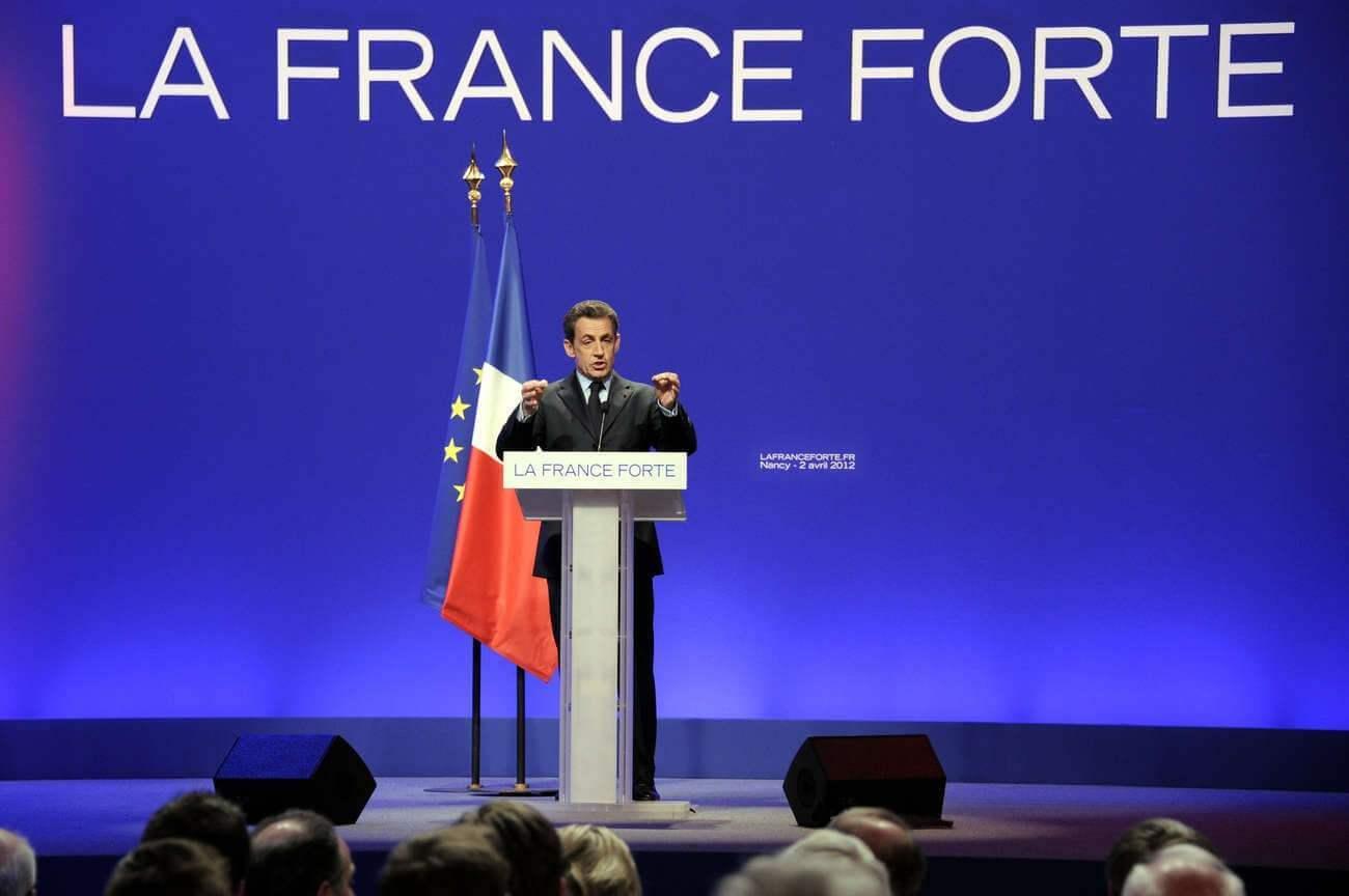 Nicolas Sarkozy during the 2012 presidential campaign (IDJDR)