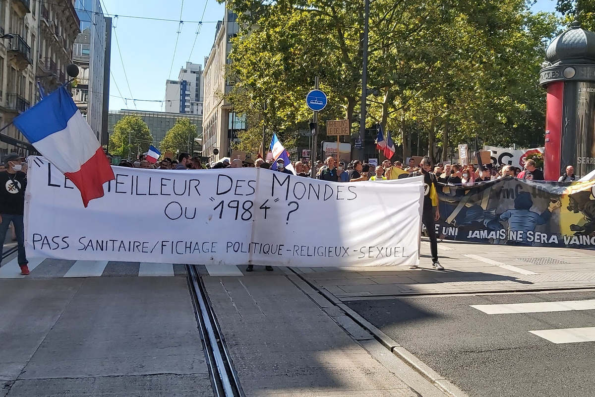 The demonstrators are less numerous in Nancy (DR)