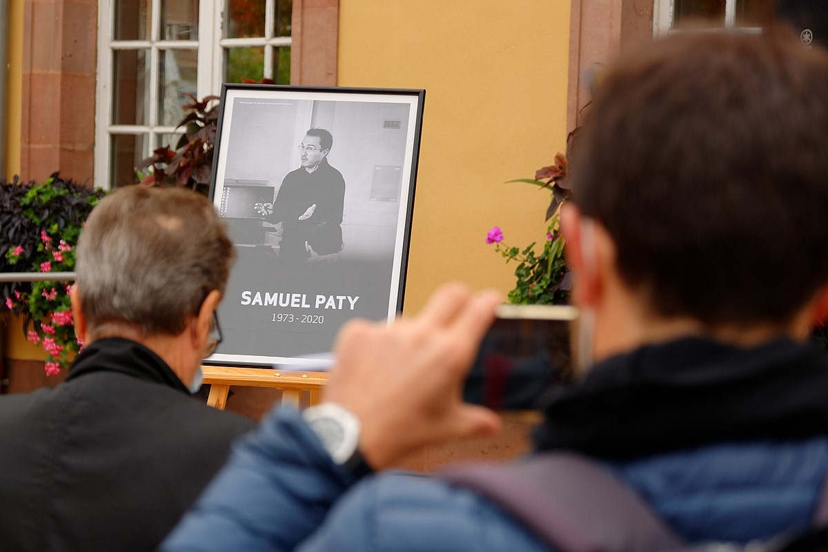 Tribute to Samuel Paty in the schools of France